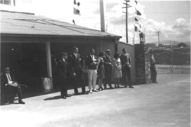 First class of MLML in 1966