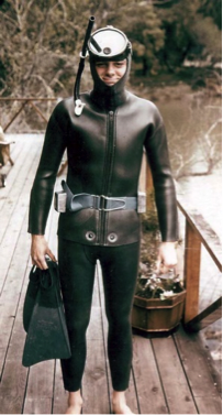Foster the diver in 1963