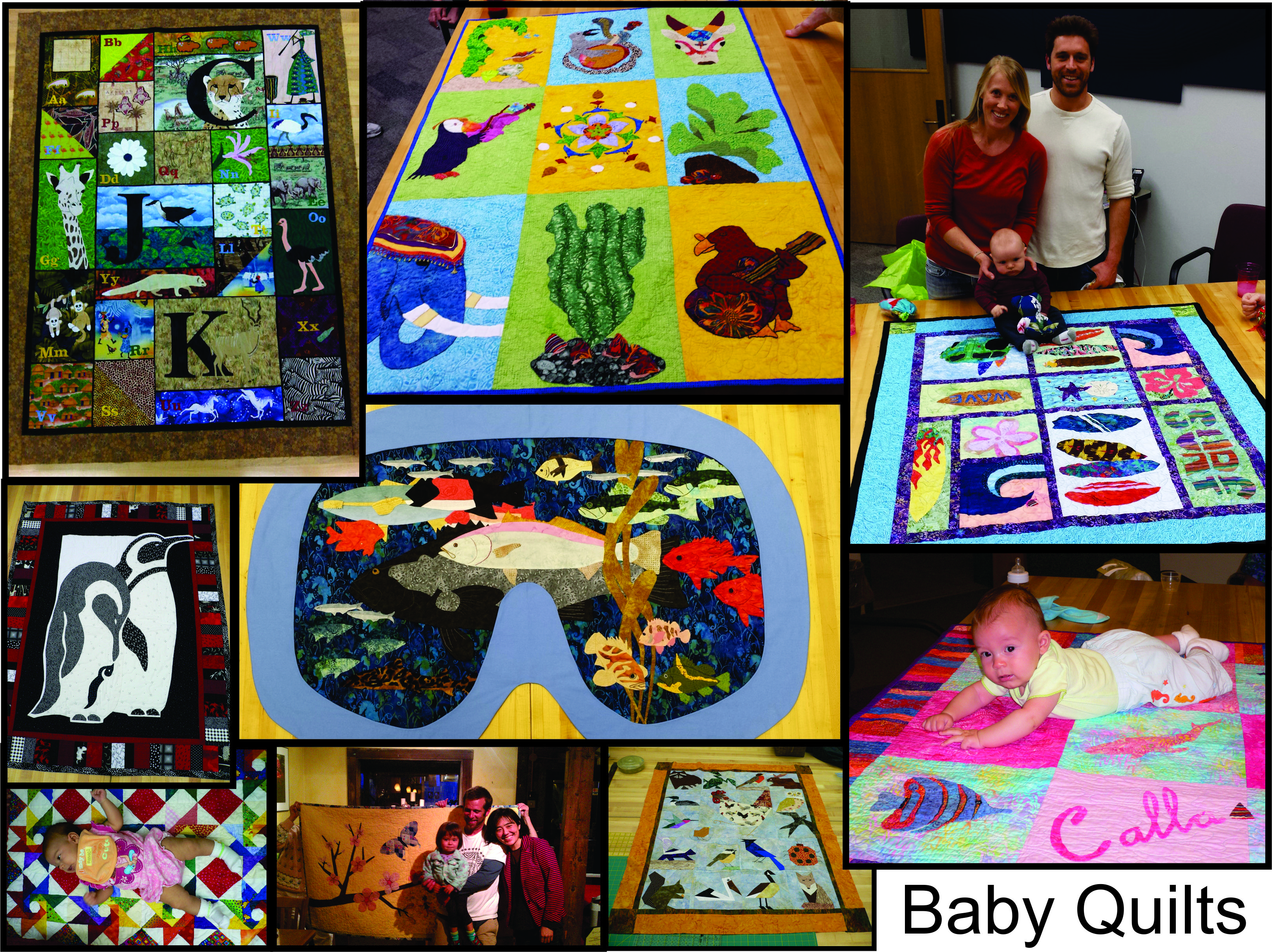 baby quilt_montage