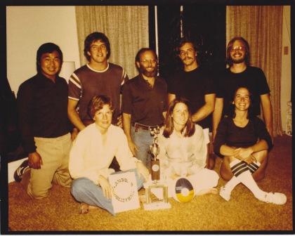 *Sanddab Volleyball Team (1977)