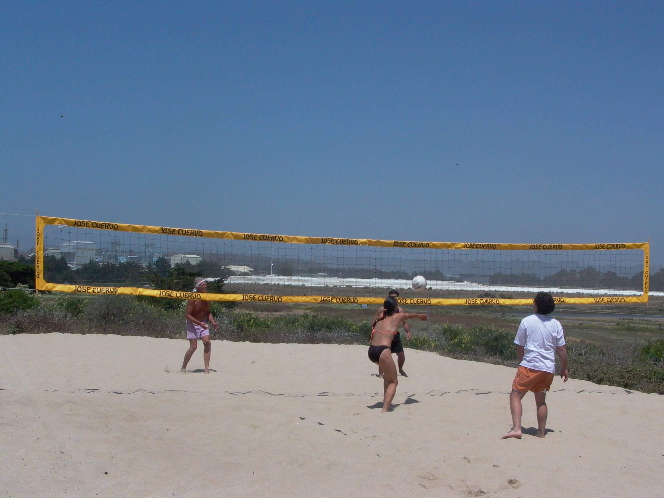 beach volleyball at mlml mlml 50th anniversary