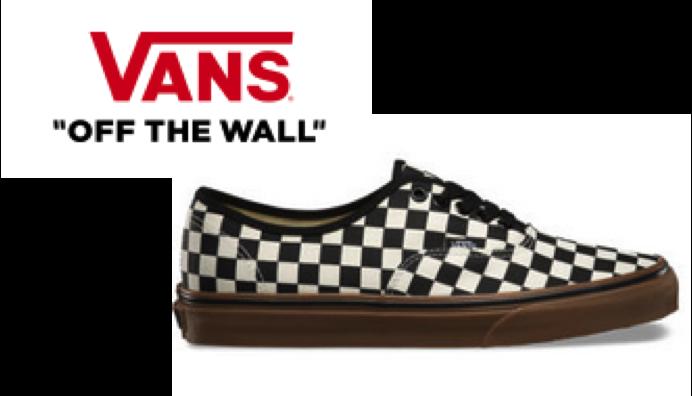 Vans logo and shoe