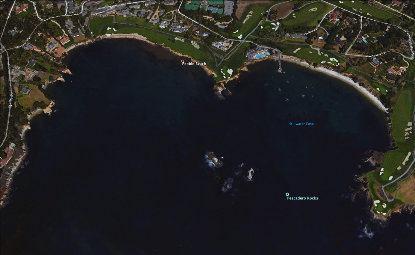 Stillwater Cove - Google Earth