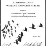 Elkhorn Slough Wetland Management Plan