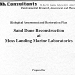 Biological Assessment and Restoration Plan: Sand Dune Reconstruction at Moss Landing Marine Laboratories