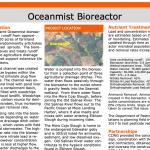 OceanMist Bioreactor - Summary Description