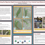 Piloting the Riparian Rapid Assessment Method in Four Central Coast Watersheds