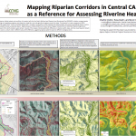 Mapping Riparian Corridors in Central CA as a Reference for Assessing Riverine Health