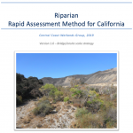 Riparian Rapid Assessment Method for California (RipRAM) Field Book - Version 1.6