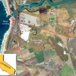 Some observations of seawater intrusion in surface waters of the Moro Cojo Watershed, Monterey County, California