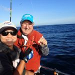 Chiu Ingram with a starfish caught on a CCFRP trip