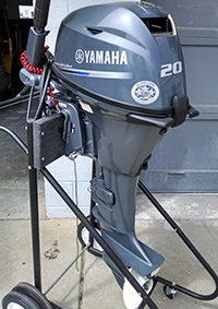 Four-Stroke 20hp Outboard Motor – Marine Operations