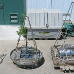 Modified Van-Veen sediment grabs - 0.05 m2, 0.1 m2, and double 0.1 m2