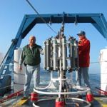 This CTD collected water samples and measured basic physical parameters when it was deployed from the NOAA ship MacArthur IIon the WEMAP Offshore 2003 project.
