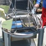 This double Van Veen grab was used to collect sediment samples on the WEMAP Offshore 2003 project.
