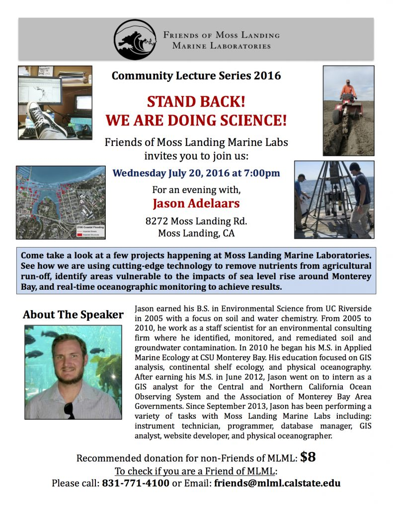 2016-07-20 Friends of MLML lecture flyer