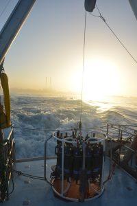 PhysOce class cruise sunrise