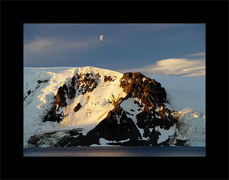 How do you cross a glacier?  Very, very carefully...(photo by Piotr Angiel)