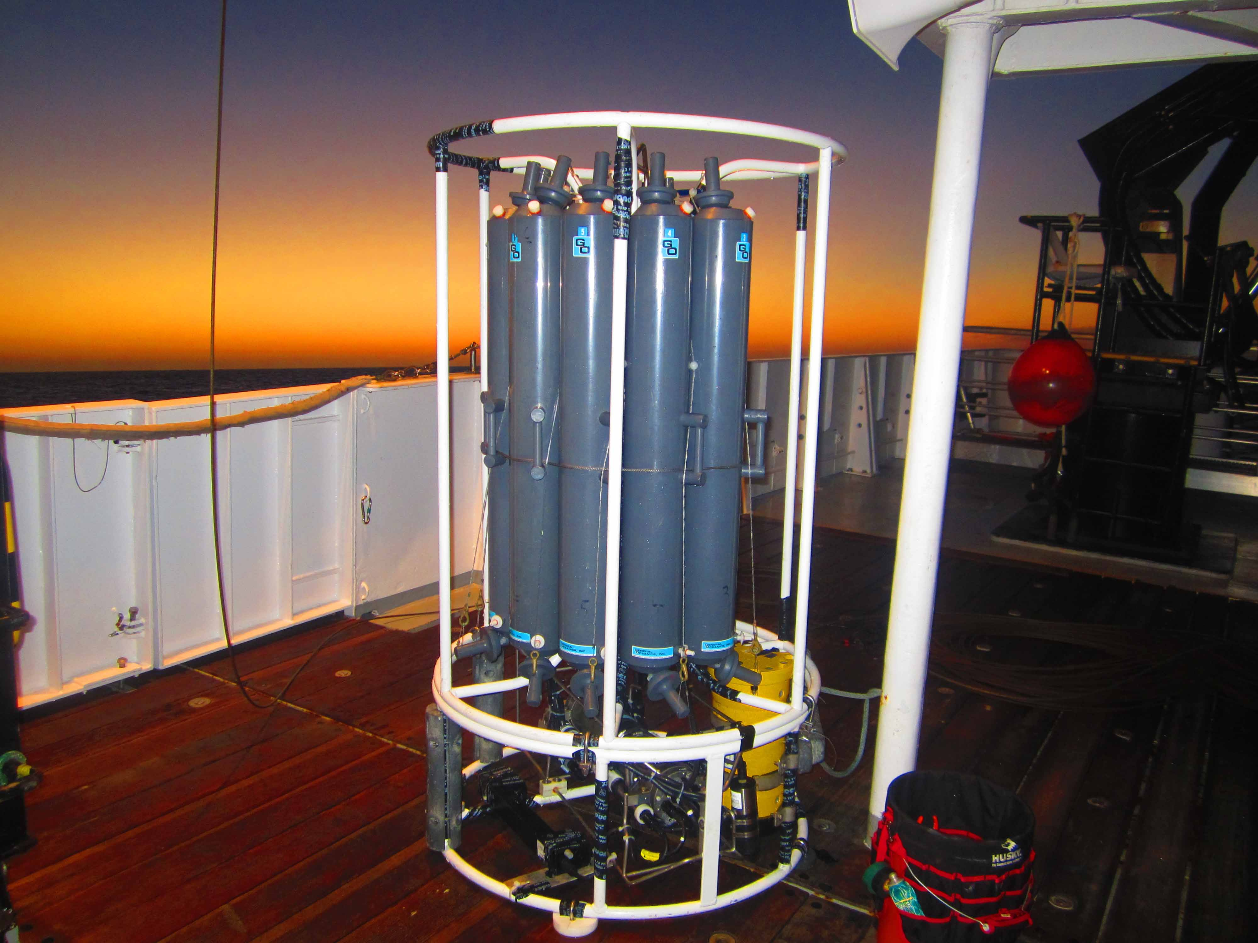 CTD-package-at-sunrise