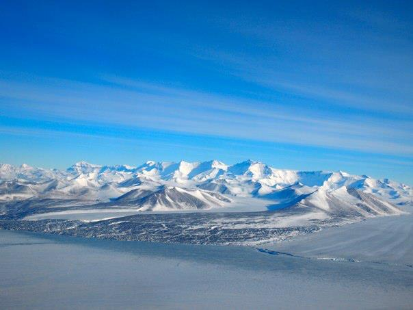 View of the Antarctic, photo by Clint Collins.