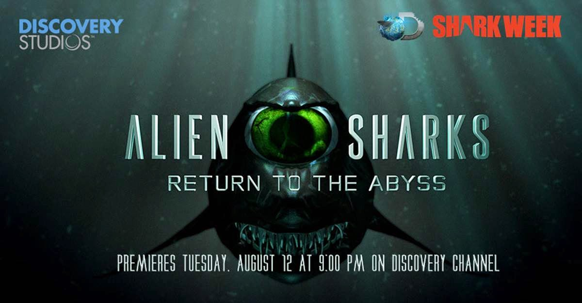 Last year's promo for Alien Sharks. The 2015 episode airs on Monday, July 6th at 10pm.