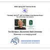 Dr. Tim Davidson presents: Bioerosion in a changing world or Control of a native and introduced foundation species by marine and terrestrial enemies