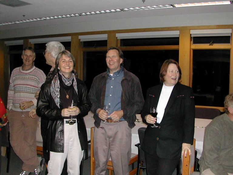 <p>Jim Harvey, Barry Giles, Simona Bartl, Kenneth Coale and Joan Parker.</p>