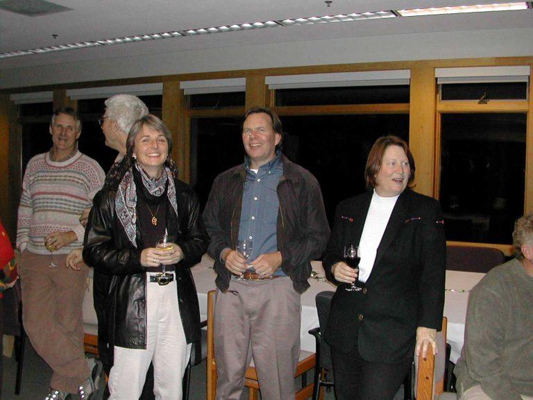 <p>Jim Harvey, Barry Giles, Simona Bartl, Kenneth Coale and Joan Parker.</p>