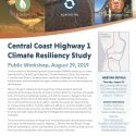 Central Coast Highway 1 Climate Resiliency Study Public Workshop – August 29