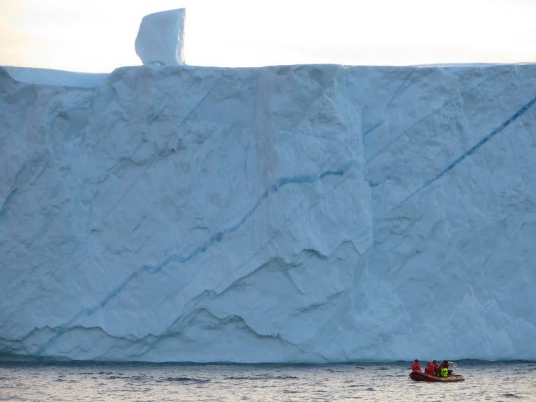 Small boat work in west Greenland. Image by Dr. Dustin Carroll