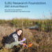 Dr. Holly Bowers featured on SJSU Research Foundation Annual Report cover