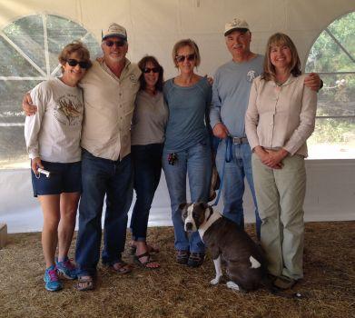 Diana Watters, Aaron King, Lucy Littlejohn, Teresa Farrar, Andrew and Lois DeVogelaere.